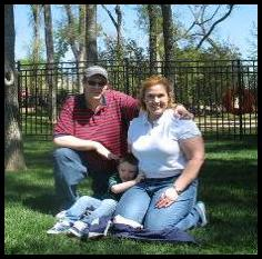 A family picture in 2009 where I weigh approximately 230 lbs.